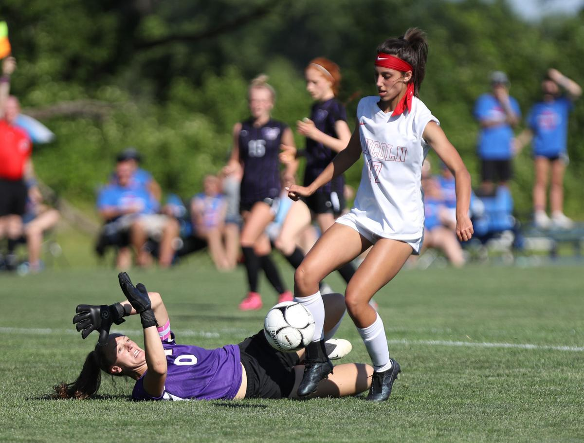 Hanna Schimmer, Council Bluffs Abraham Lincoln vs Waukee, Girls State Soccer