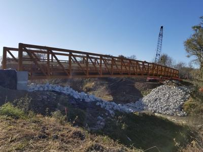 Construction continues on Pottawattamie County's trail system