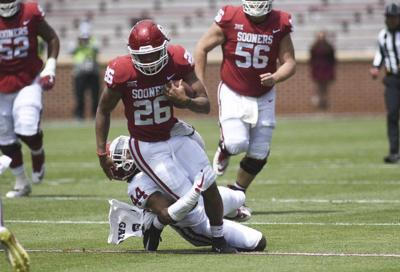bb66a6ea1b6222 OU football  20 things we learned about the Sooners this spring ...