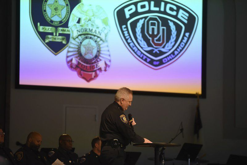 Cadets graduate from Norman police academy