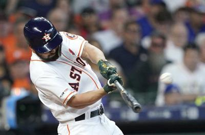 41fa55ef601be7 OU baseball: Former Oklahoma star Jack Mayfield doubles in first MLB at-bat