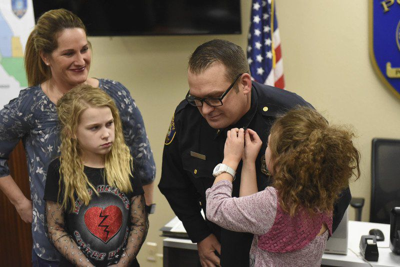 Norman Police Department starts 2018 with two promotions