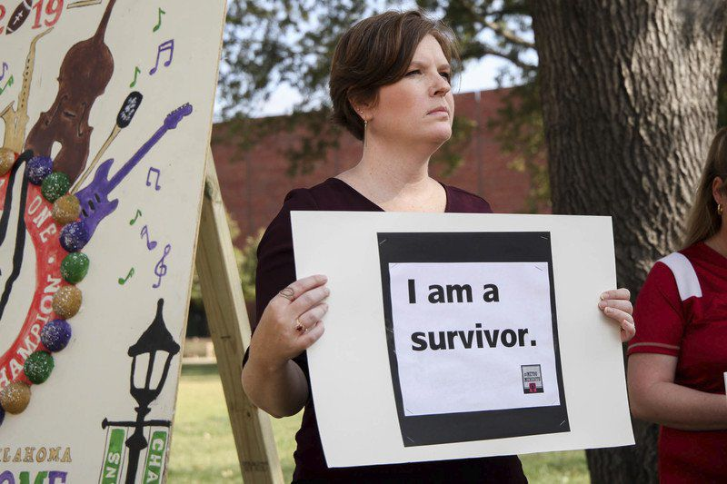 Professor brings survivors' stories to campus with #MeToo event