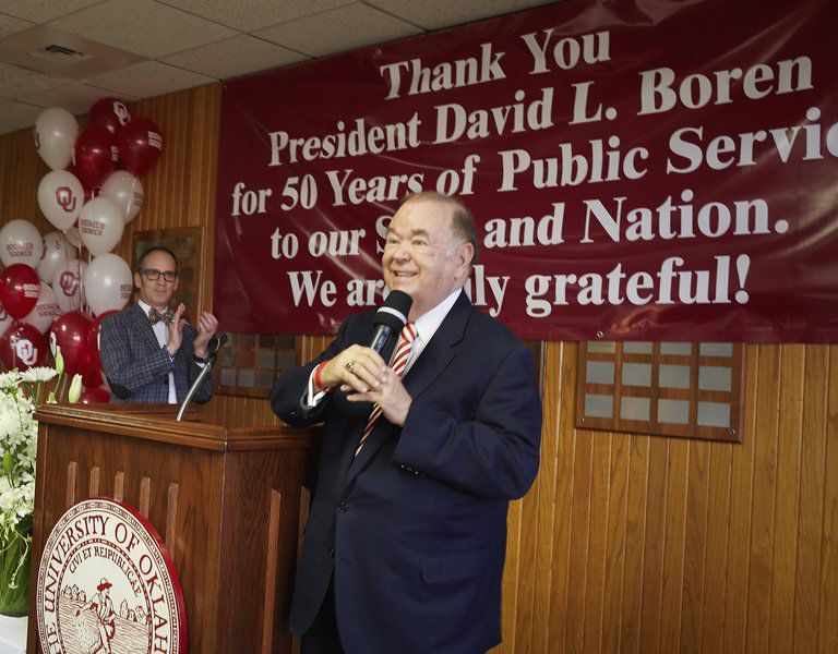 Politicians react to OU president David Boren's decision to retire