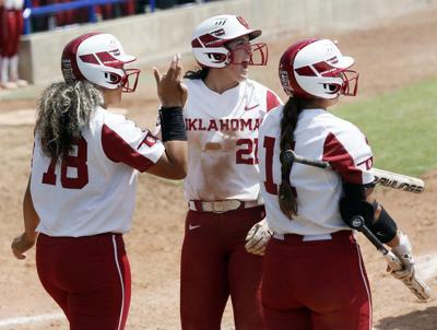 6469db06188e OU softball  Grace Green shines in first opportunity to play in front of  her mother