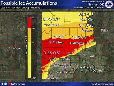 Area under Winter Storm Watch later today; ice, snow predicted