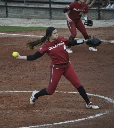 OU softball: Shannon Saile showing 'boss-on-the-mound' type of look for Sooners