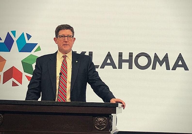 Jay Johnson at Oklahoma Capitol