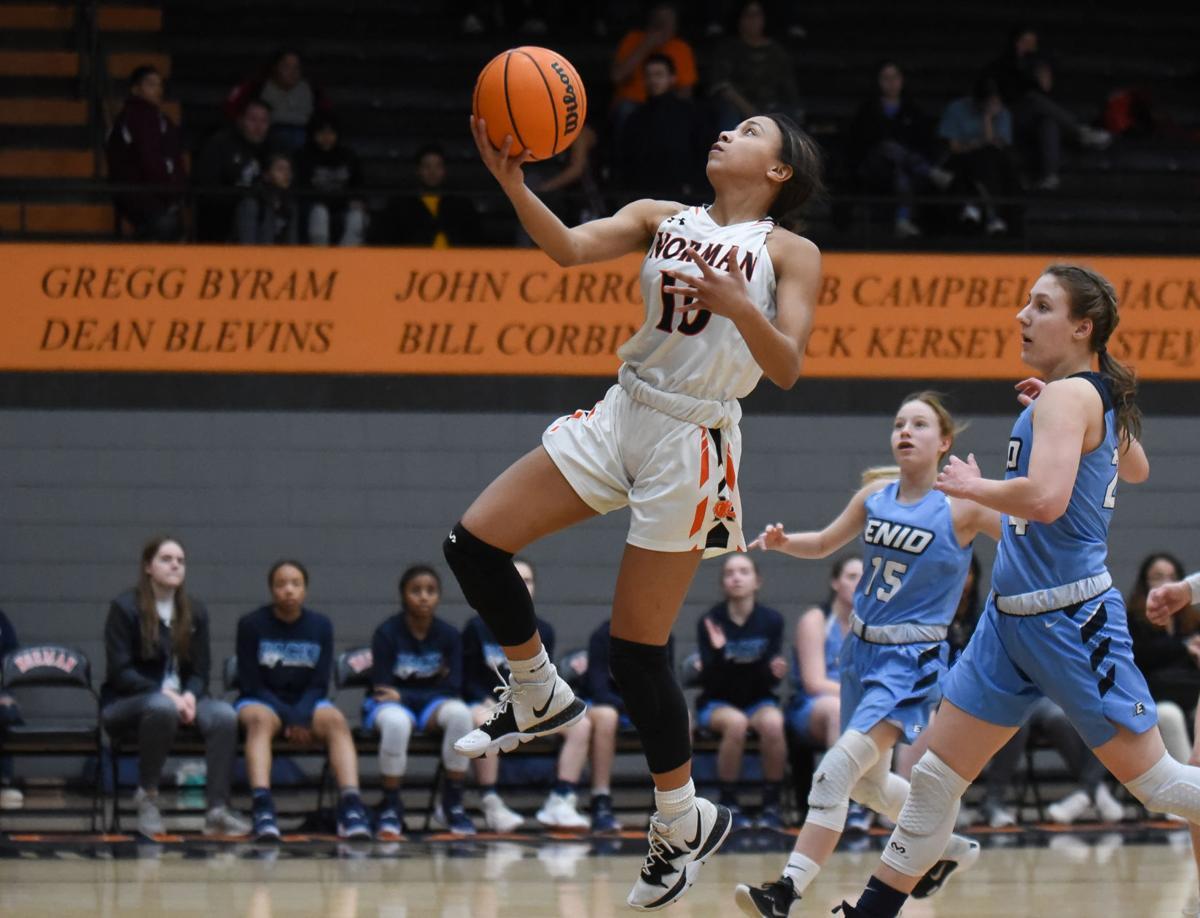 Norman High vs Enid Girl's Basketball