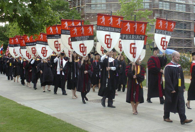 Ou Graduation Week Activities Listed University Of
