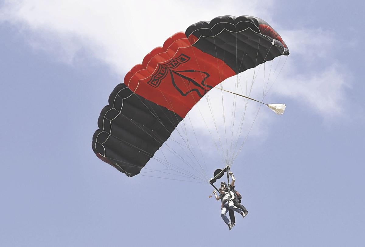 Gallogly parachute jump
