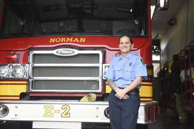 Female firefighter joins Station 1 in Norman