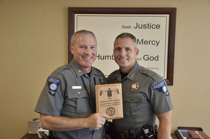 Deputies honored by Oklahoma Sheriff's Association