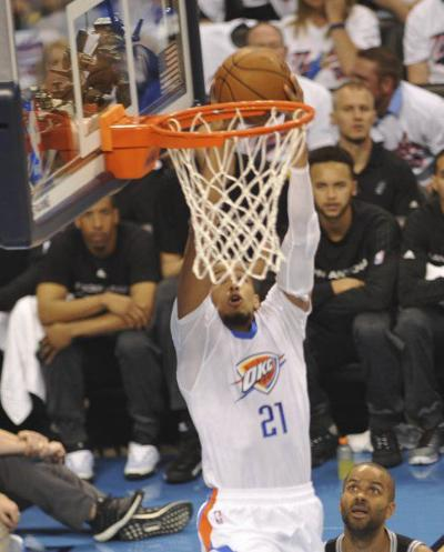 Thunder may have to do something about Roberson, Green