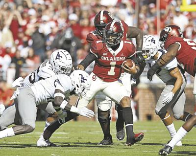 Image result for Jalen Hurts Photos Against West Virginia