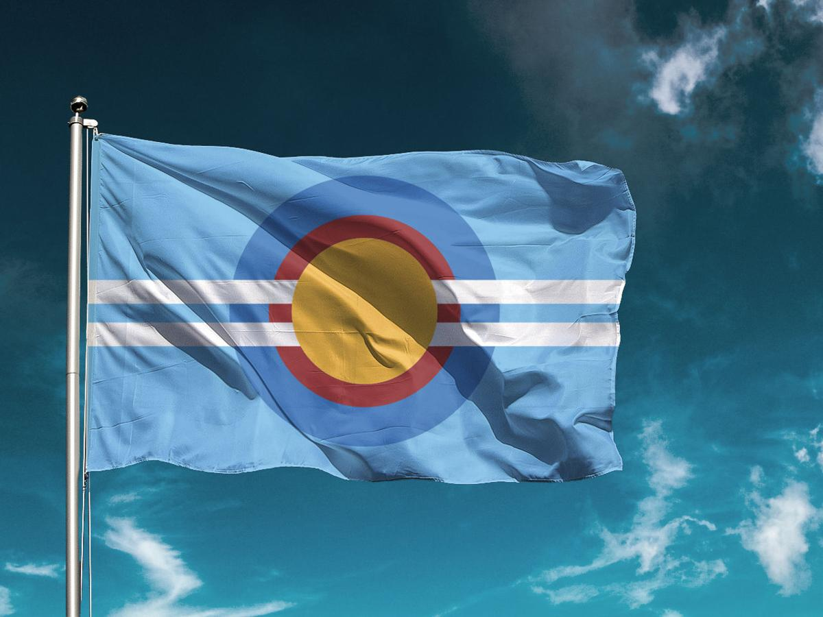 Cody Norman city flag redesign.