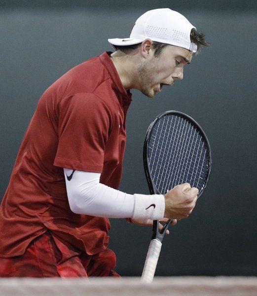 OU men's tennis: Mason Beiler's clutchvictory gives Oklahoma momentum during NCAA run