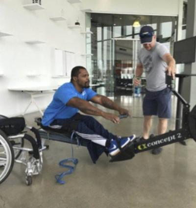 Local Paralympian, military vet sets sights on rowing with Team USA