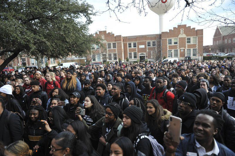 OU students march in solidarity, demand action after second blackface incident