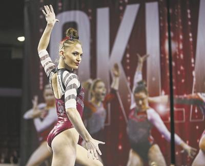 OU women's gymnastics: Jade Degouveia's