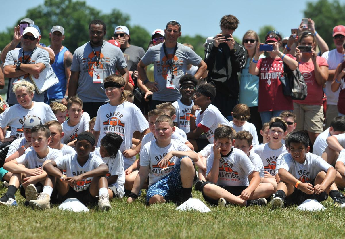 Baker Mayfield Hosts Youth Camp In Norman