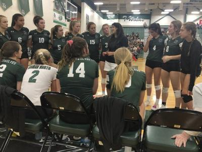 Prep volleyball: Perhaps the team to beat, Timberwolves open strong