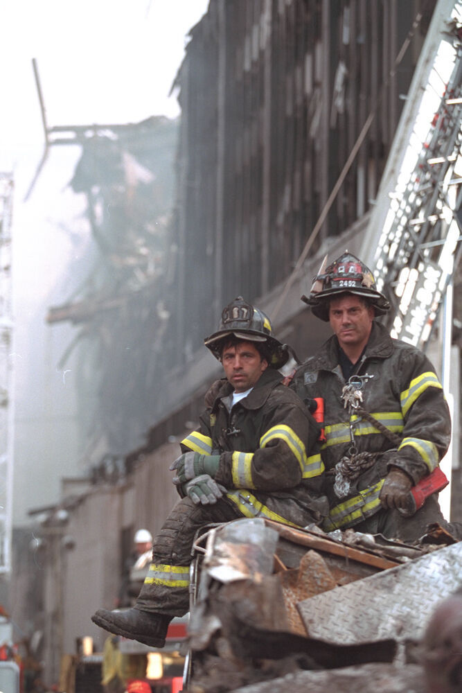 Sept. 11, 2001, firefighters