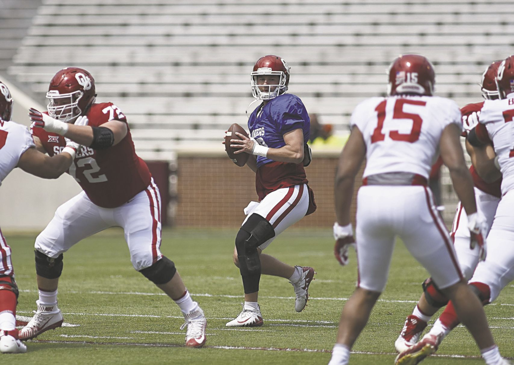 OU football: Austin Kendall displays another layer in spring game ...