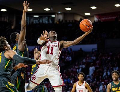 Baylor vs Oklahoma Mens Basketball Game - February 18, 2020