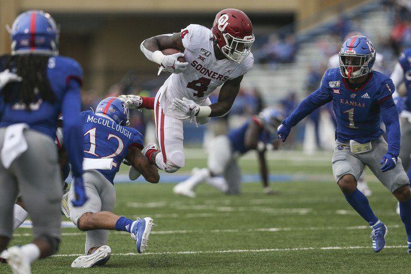 OU football: Oklahoma overcomes slow start, pulls away at Kansas