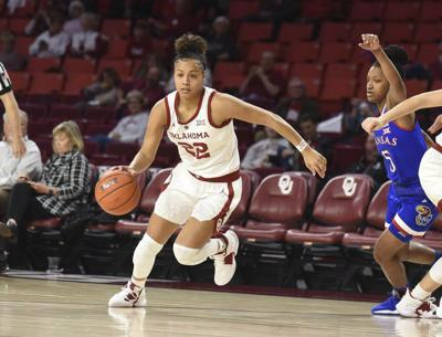 OU women's basketball: Oklahoma beats Kansas, halts 10-game losing streak