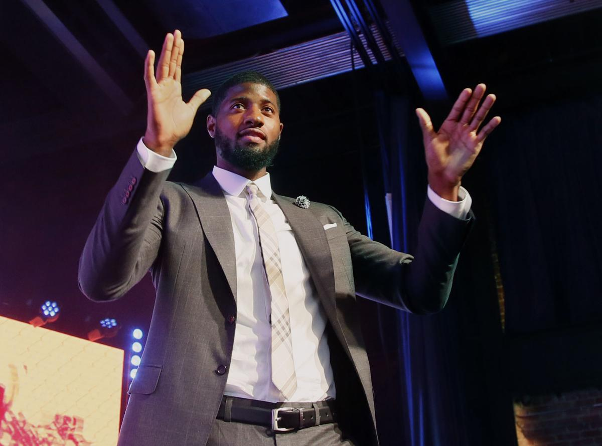 Paul george welcome party oklahoma city