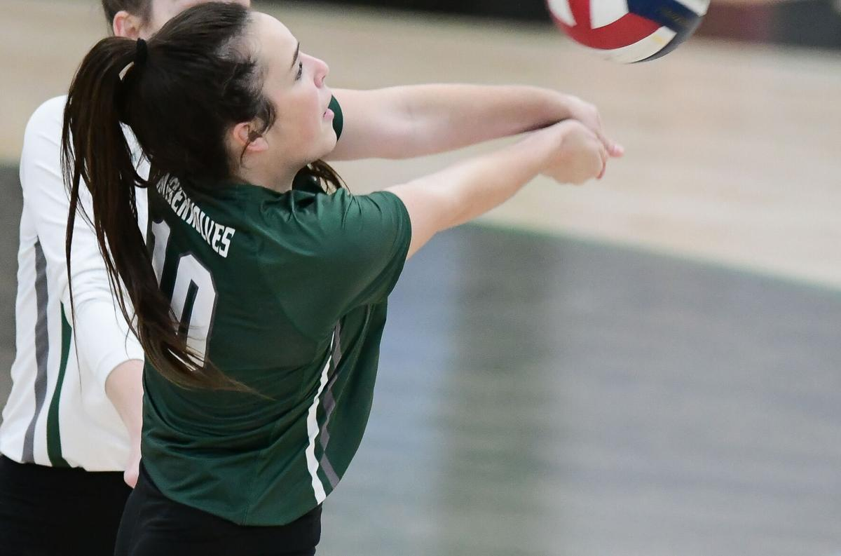 Norman North vs Lawton Volleyball
