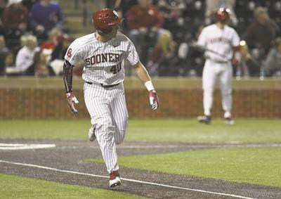 Ou Baseball Brady Lindsly Making Most Of Increased Catcher Reps