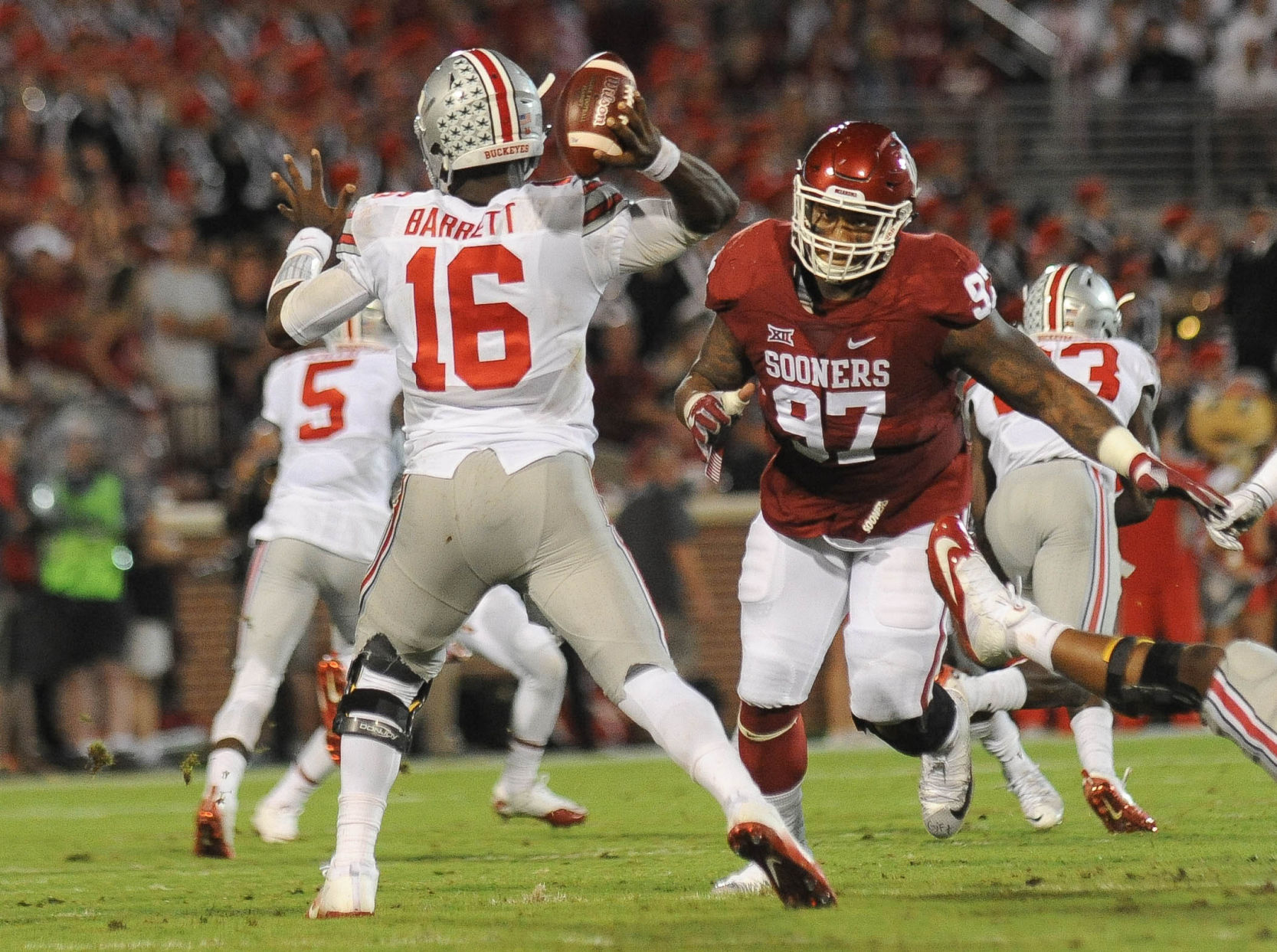 NCAAF Week 2: #5 Oklahoma @ #2 Ohio State, Preview and Prediction