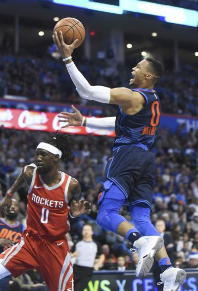 Rockets Thunder Basketball