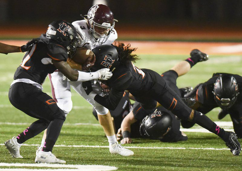 Norman High football: 'Angry' Tiger defense shuts out Edmond Memorial