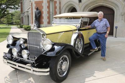 1931 Pierce Arrow touring car rebuilt into award winner