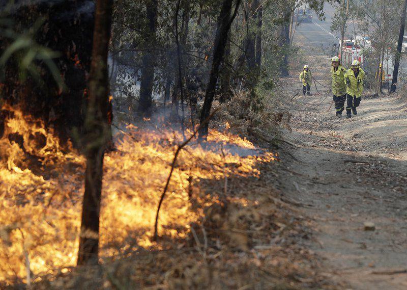 Weather raises fire danger