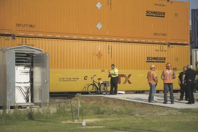 Train - pedestrian collision