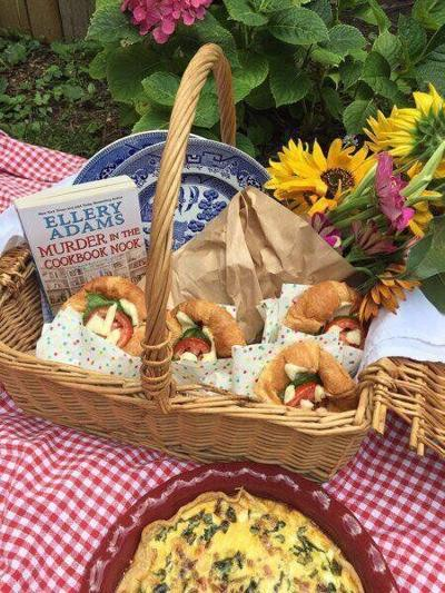 Food by the Book: Murder mystery a delicious summer read
