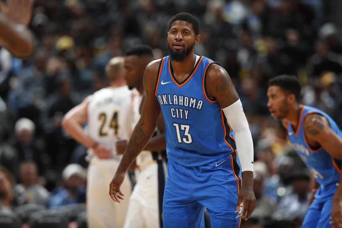 feature article paul george A person with knowledge of the situation says oklahoma city's paul george has  decided not to exercise his $207 million option for next.