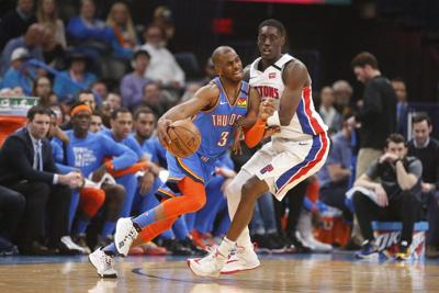 OKC Thunder: Happy to still be together, Thunder ride more clutch play from Paul past Pistons