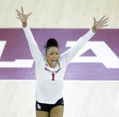 OU volleyball: Ashlynn Dunbar finds 'perfect place' in first and only season with Sooners
