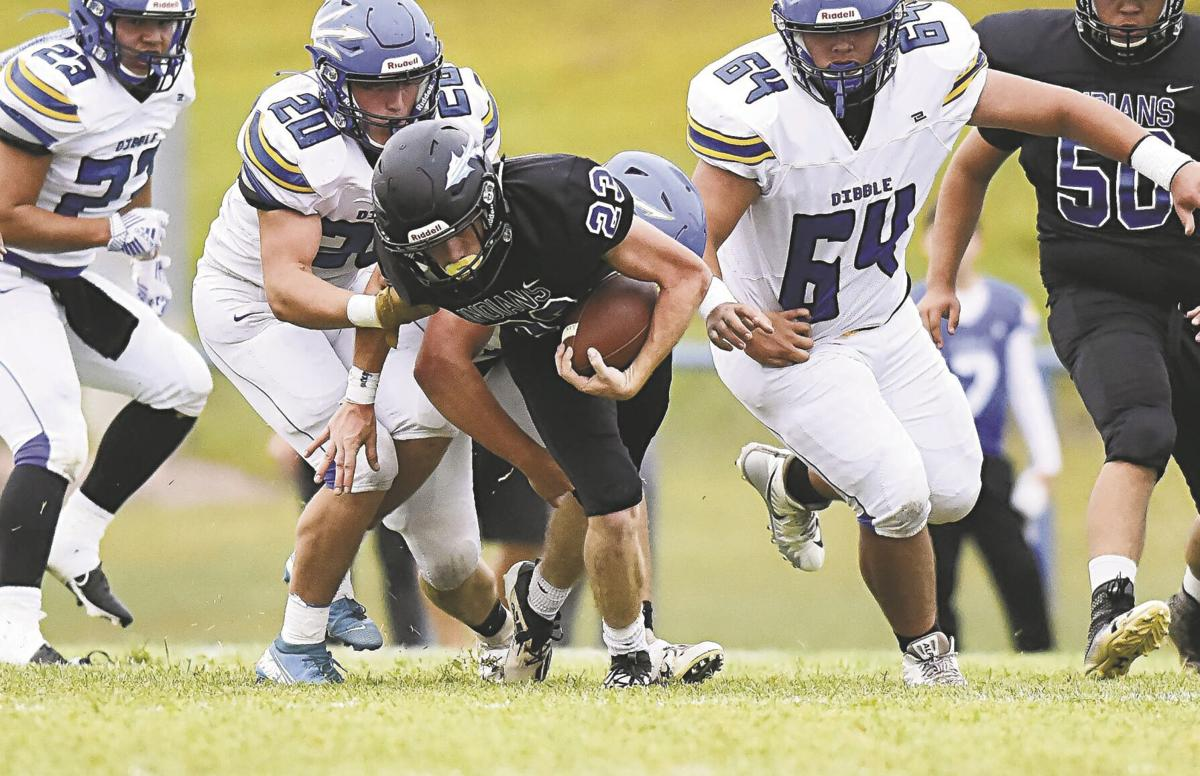High school football: Little Axe's inexperience proves costly against Dickson