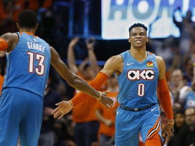 OKC Thunder:Westbrook's future evolving following George being dealt for historic haul of picks