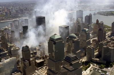 World Trade Center rubble