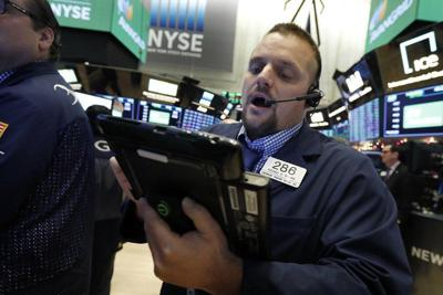 The Dow drops nearly 800 points