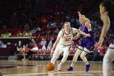 OU women's basketball: Oklahoma's Taylor Robertson performing like the best long-distance shooter to ever play the college game