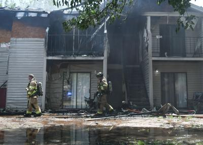 Brentwood Apt Fire